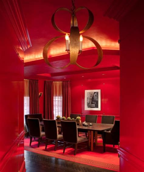 red dining rooms how to work with red to create vibrant and elegant decors