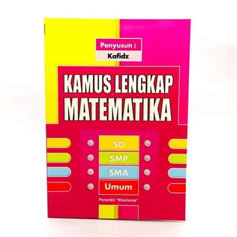 buku kamus lengkap matematika pusaka dunia