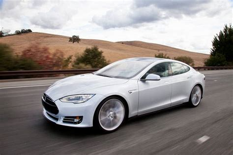 Electric Car Tesla Tesla Model S All Electric Car Of 2013 Xcitefun Net