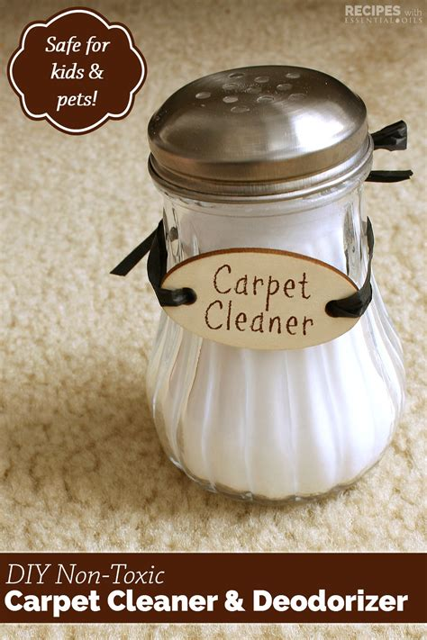 Carpet Cleaner and Deodorizer   Recipes with Essential Oils