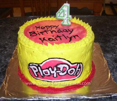 Dun Doh Birthday Cake coolest play doh birthday cake