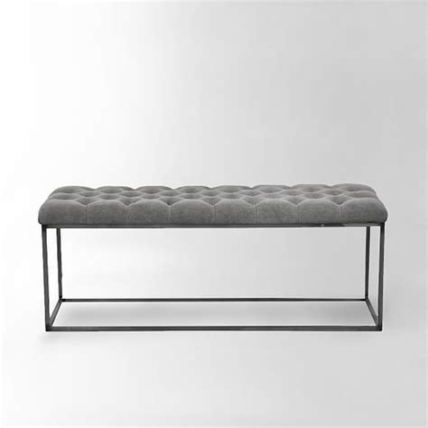 tufted ottoman bench the 25 best tufted bench ideas on pinterest create
