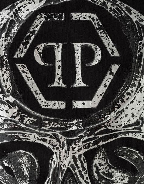 Ls Handmade - sweatshirt ls quot handmade skull quot philipp plein