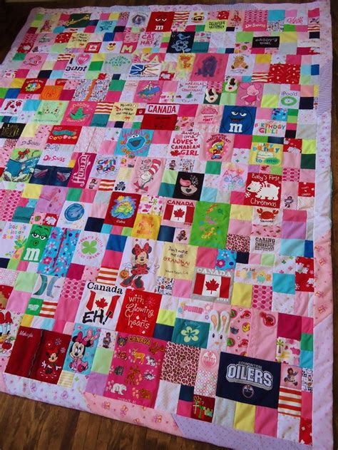 Patchwork Quilt Out Of Baby Clothes - baby clothes quilt by keepsake quilts
