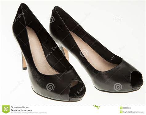 modern high heels black high heels stock images image 30364384
