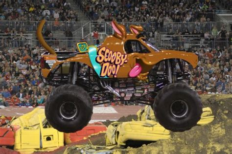 scooby doo monster truck video big trucks big wheels to roll into sacramento universal