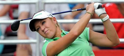photo natali sxs natalie gulbis does donuts in a lexus swingxswing clubhouse