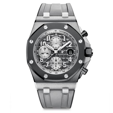Jam Ap Roo Jf Ceramic Grey Chrono Best Clone 1 sihh 2018 audemars piguet royal oak offshore chronograph new 2018 models time and watches