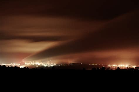 18 sky pictures with light pollution