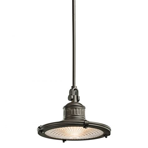 Nautical Pendant Light Bronze Nautical Style Ceiling Pendant Light With Prismatic Glass