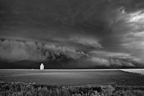 Home Design Studio White Plains by Mitch Dobrowner Storm Approching Silo Photograph For