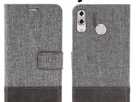 Nano Flip Asus Zenfone C asus zenfone 5z zs620kl canvas leather flip card