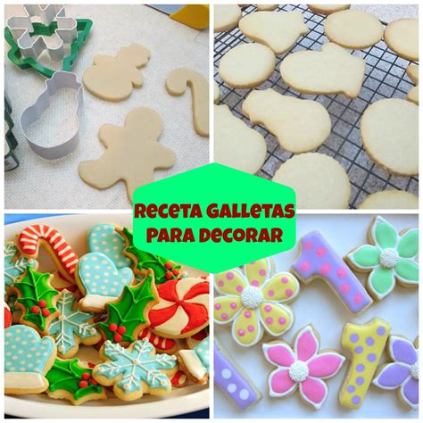 glaseado para decorar galletas facil receta de galletas para decorar con royal icing o fondant