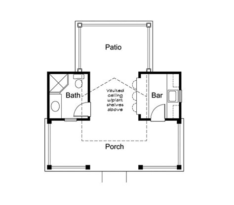 pool cabana floor plans cabana house plans escortsea