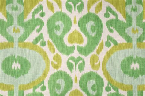 bold curtain fabric braemore big and bold ikat printed linen blend drapery
