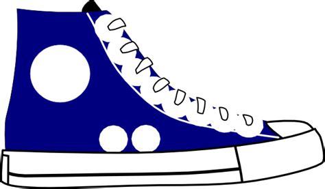 tennis shoe clip at clker vector clip