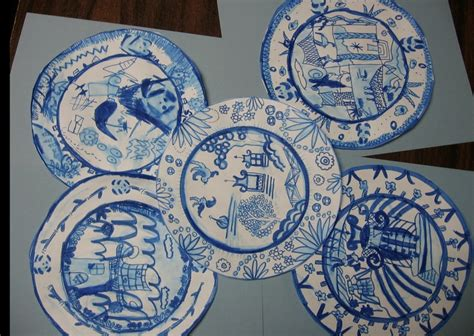 willow pattern drawing 1136 best cultural art projects images on pinterest