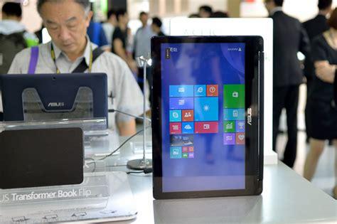 Laptop Xoay Asus Transformer Book Flip computex 2014 tr 234 n tay asus transformer book flip laptop lật xoay 15 6 quot fullhd gi 225 499