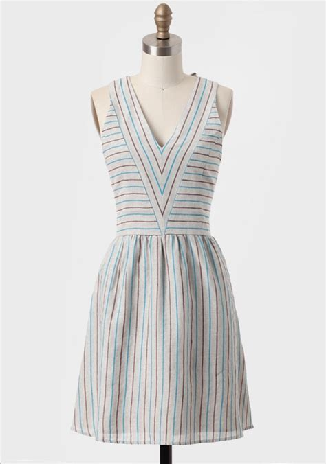 sweet valley striped dress by dear creatures modern