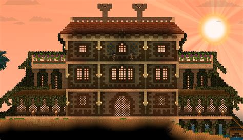starbound houses starbound house building google search terraria