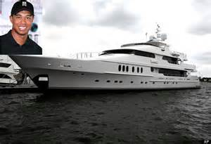 Yatch Interior Tiger Woods Yacht Privacy Goes Up For Sale