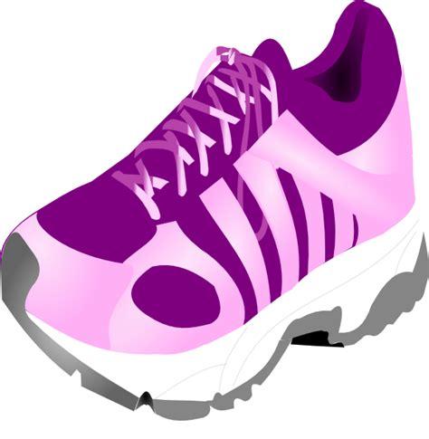 running shoe clip at clker vector clip