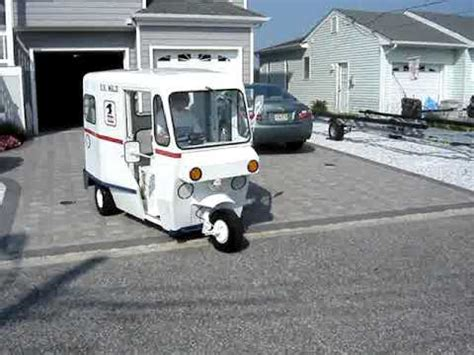 mail truck for sale 1963 westcoaster mailster vintage 3 wheel mail truck