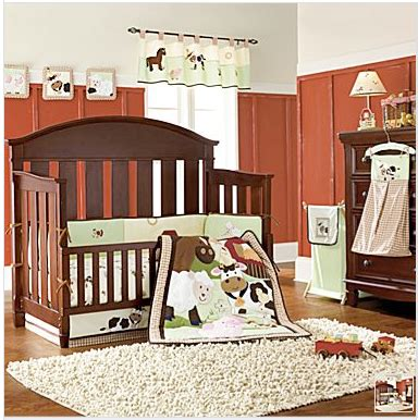 farm crib bedding nojo farm babies crib set diaper stacker barn animals boy