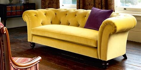 yellow velvet sofa 2 seater yellow velvet chesterfield chesterfield sofas