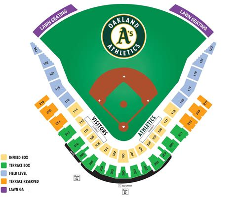 cubs stadium seating chart hohokam stadium seating chart oakland a s