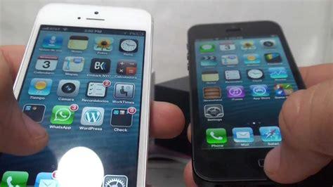 imagenes del iphone 5 en negro iphone 5 mi review blanco o negro precios youtube