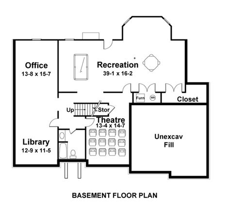 arlington house floor plan arlington 8001 5 bedrooms and 4 5 baths the house designers
