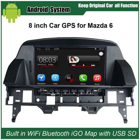 mazda 6 touch screen 8 inch capacitance touch screen car media player for mazda