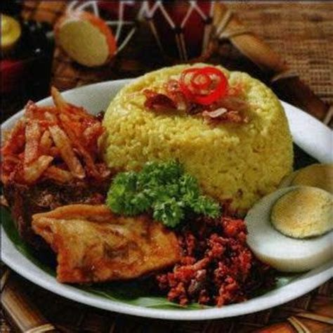 membuat nasi kuning manado resep nasi kuning manado komplit resep masakan