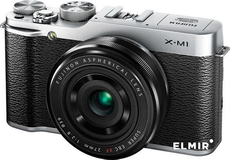 Fujifilm Finepix X M1 Fuji Finepix X M1 Silver