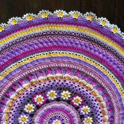 crochet mandala rug 933 best crochet mandala images on crochet mandala mandalas and free crochet