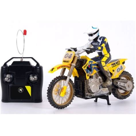 remote motocross bike nikko remote cross bike iwoot