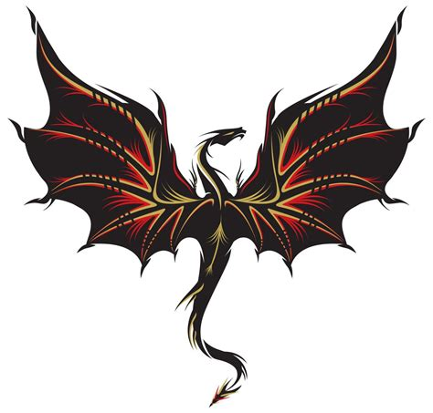 dragon tattoo vector illustration for forearm designs for that are ridiculously