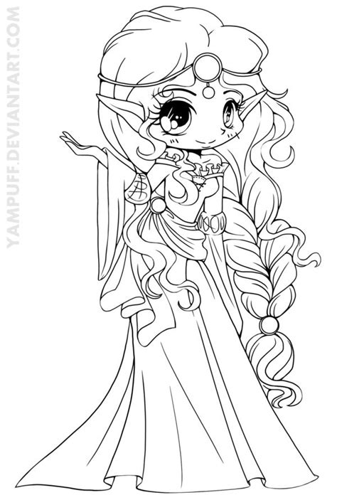 chibi princess coloring pages 126 best images about sureya yampuff on pinterest chibi