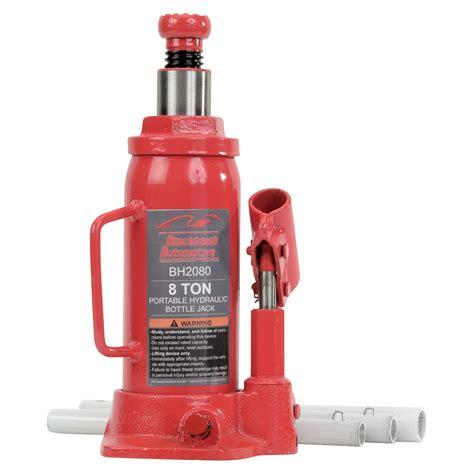 Blackhawk Automotive 8-Ton Heavy-Duty Hydraulic Bottle ... Hydraulic Car Bottle Jack