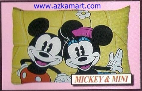 Selimut Karakter Mickey Mouse Merah barcelona balmut gulmut selimut murah