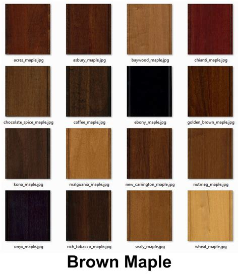 maple cabinet stain colors manicinthecity