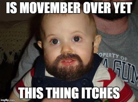 Movember Meme - beard baby meme imgflip