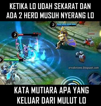 kata kata di mobile legend 8 gambar meme lucu mobile legends terbaru area ketawa