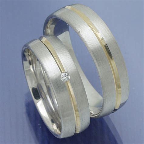 Verlobungsringe Gold Silber by Eheringe Shop Trauringe Verlobungsringe Silber Gold