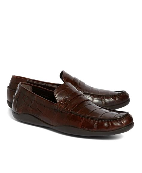 alligator loafers s genuine american alligator classic bit loafers