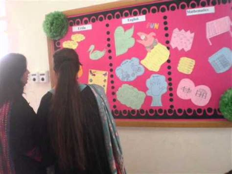 Soft Board Decoration by Soft Board Competition Pec Doha Qatar Junior Wing 0001