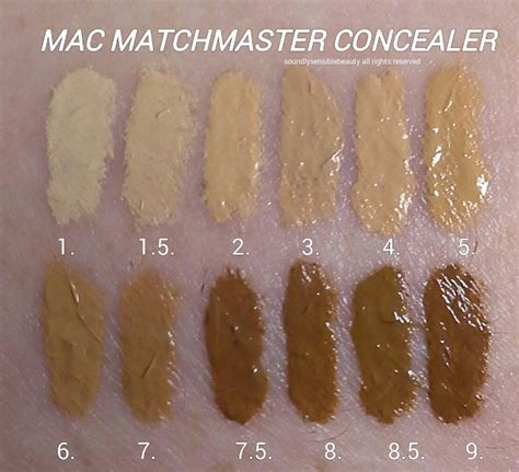 Foundation Mac Matchmaster mac matchmaster concealer stick review swatches of shades