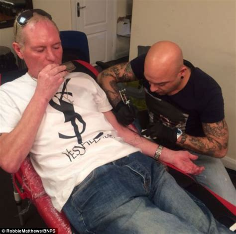 tattoo parlour bournemouth paul gascoigne visits tattoo parlour five days in a row