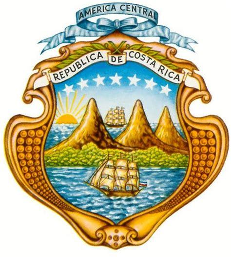 imagenes de simbolos nacionales de costa rica para colorear escudo de costa rica elementos y significado bandera de